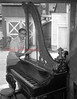 (08.23.53) An unusual piano-harp is being cleaned by John Tomlinson, Trevorton. The instrument, which is believed to be more than 150 years old, is the property of Luke Johnson.
