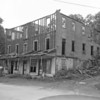 (1956) This building in Helfenstein, which once contained 20 rooms, is being demoed. Once served as a stop-over hotel. Mr. Weikie said he purchased the former hotel two years prior from his mother, Mrs. Matilda Weikie, who owned it for more than 30 years.