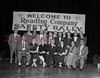 (1956) Safety Rally of the Shamokin Division Reading R.R. Co. Seated are, from left, George Miller, Ellen Glennon, Mrs. G.L. Maurer, C.K. Hock, Mrs. Dan Mowery and Harry Paul; standing, C.A. Martz, Gordon Troy, H. Lindermuth, G.L. Maurer, Fred Firster, R. Bobbs, Harold Smith, Ray Wagner, J.J. Hollister, D.E. Mowery, Herbert Lone and R.A. Fels.