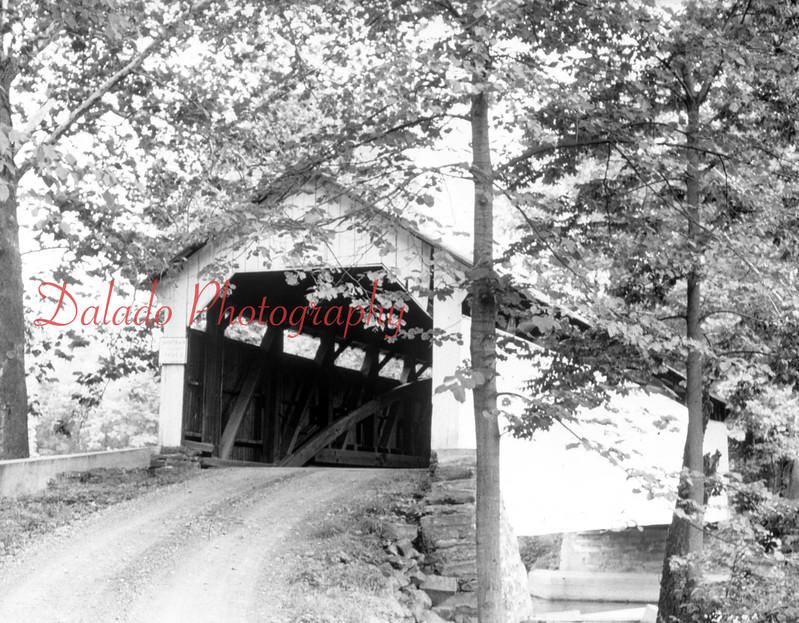 (Feb. 1953) Covered bridge, exact location unknown.