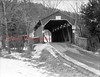 (Feb. 1953) Covered bridge at Jepko's Golf Course.