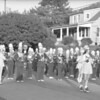 (August 1960) Trevorton parade, Coal Township band.
