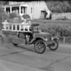 (August 1960) Trevorton parade, Freeburg firetruck.