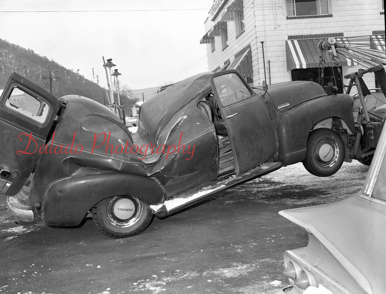 Truck crash.