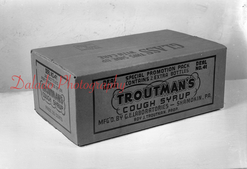Troutman's Cough Syrup.