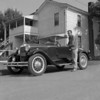 (1957) Old car.