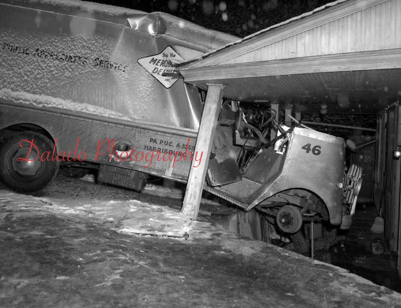 (01.08.53) Truck into house.