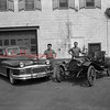 (1949 or 1950) Antique cars.