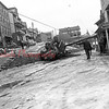 (Jan. 1951) Wreck at Webster and Tioga streets.