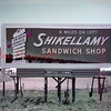 Shikellamy Sandwich Shop billboard, unknown location.