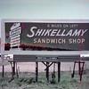 Shikellamy Sandwich Shop billboard, unknown location.