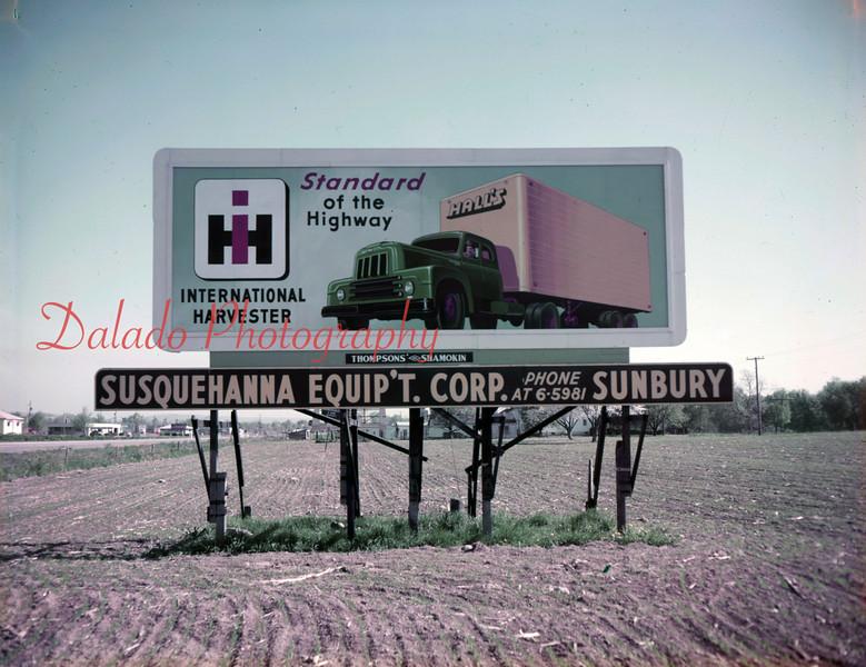 Susquehanna Equipment billboard, unknown location.