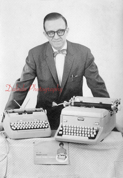 Emerson Hollenback, typewriter repair man.