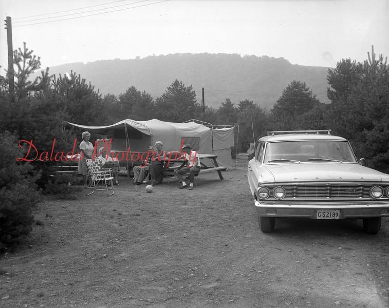 (Aug. 1967) Camping shot.