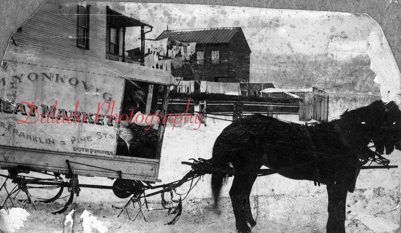 Yonkovig Meat Market wagon.