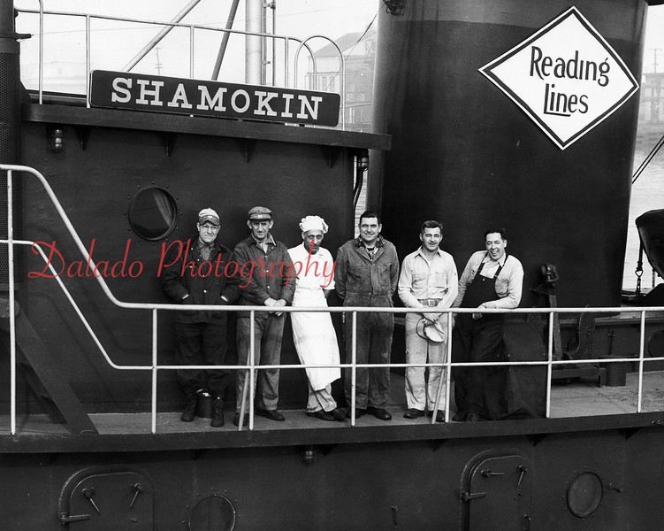 A tug boat named after Shamokin.