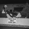 (Dec. 1958) Looks to be a Christmas parade in Shamokin.