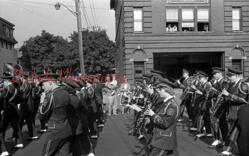 Shamokin parade. (Maybe 1957 or 58)