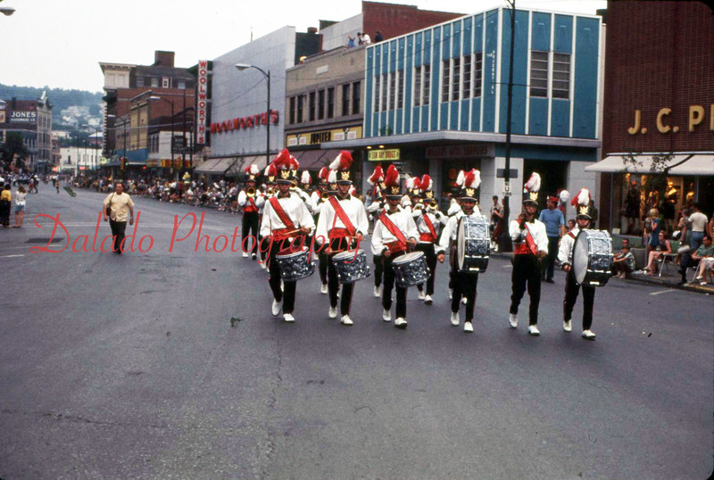 Parade in Shamokin, might be 1964.