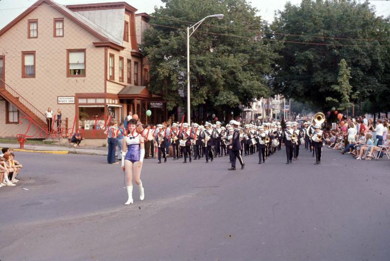 Parade in Shamokin, might be 1964.