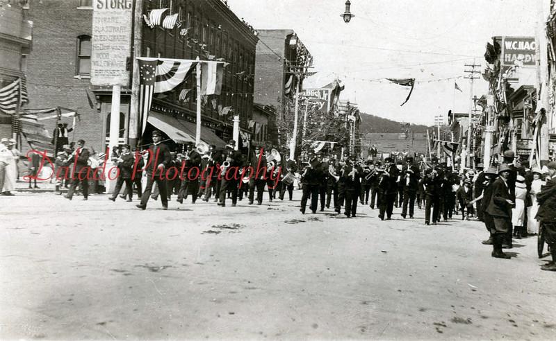 (1914) Shamokin celebrating their 50th Anniversary.