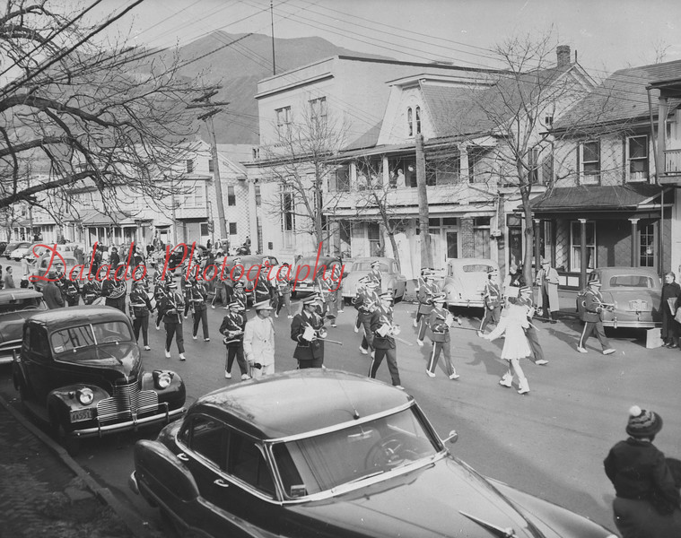 Parade on Second St. in Shamokin.