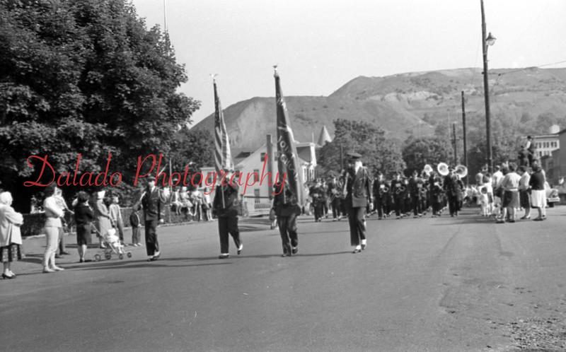 Shamokin parade. (Maybe 1957 or 58)