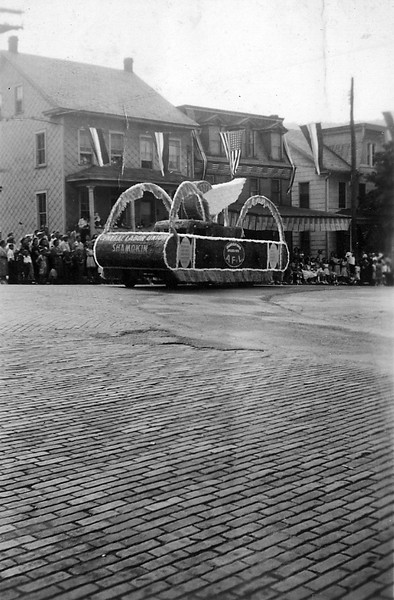 (1939) Shamokin Diamond Jubilee Parade- Central Labor Union.