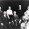 Zimmerman Family (1919) Pictured from left are Abbe, Grandpa Mose, Kate, Chas, Min, Grandma Isabelle and Geo.