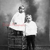Brothers Leon and Larue Epler, children of Sarah and George Epler.