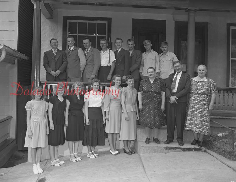 Walter Dombroski family.