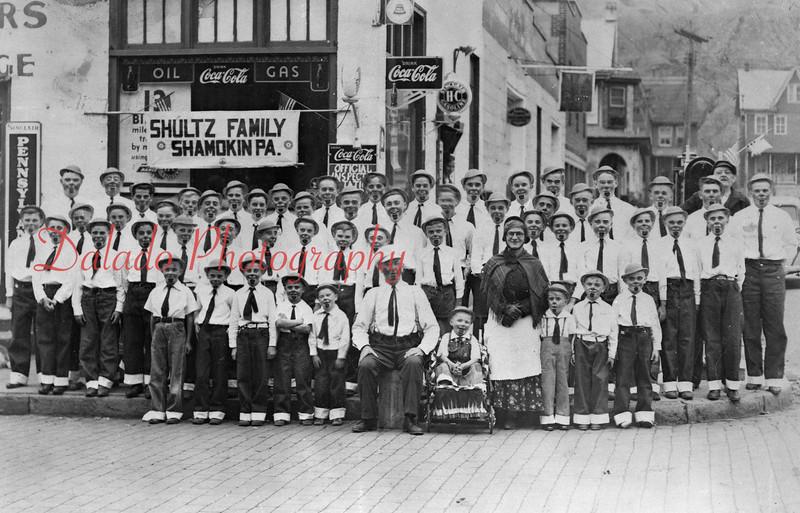 Shultz Family of Shamokin.