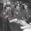 (12.01.53) Three Shamokin mailmen bring in their contributions collected on various routes during the drive for funds to combat muscular dystrophy. The drive was staged by the local carriers, who collected $3,000. Shown are William Updegrove, Theodore Szverra and Fred Heine.