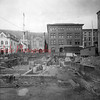 Post Office construction at Rock and Shamokin streets.