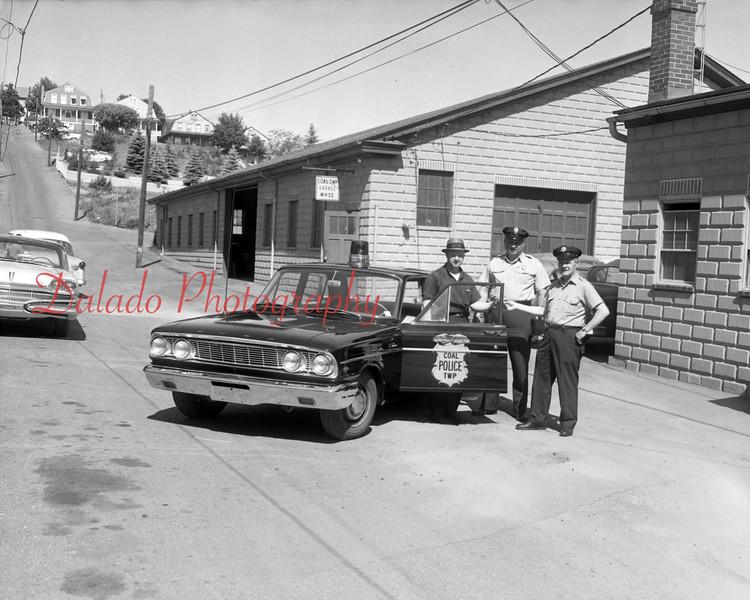 (1964) Coal Township police.