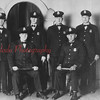 Shamokin police officers are, front row, from left, Rufus Hale and Dad Lynn; back, Daniel McCollum, Emmett Golden, William Mayer and Myron Reese.