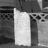 (July 1956) Grave in Shamokin, between Spruce and Pine streets.