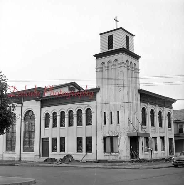 (April 1963) Chestnut Street Methodist Church.