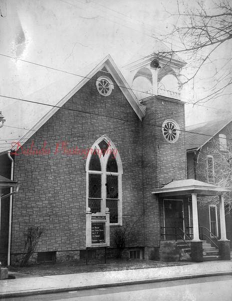 Emmanuel United Methodist Church- Located on Center Street in Tharptown.