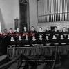 Grace Lutheran Church, Shamokin, Vested Choir. E.H. Gerhart, pastor.