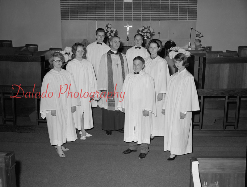 (1964) Grace Lutheran confirmation.