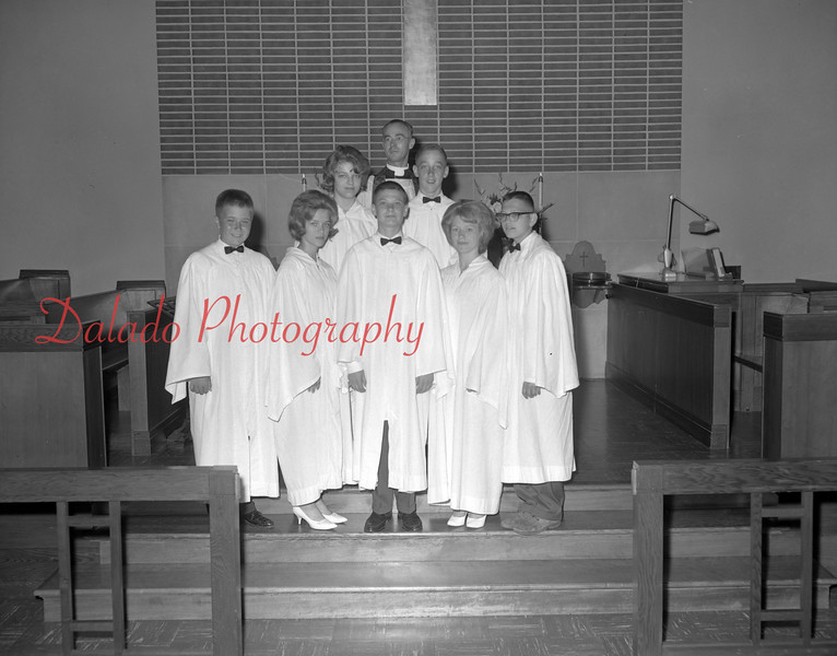 (1962) Grace Lutheran Church with Pastor Souders.