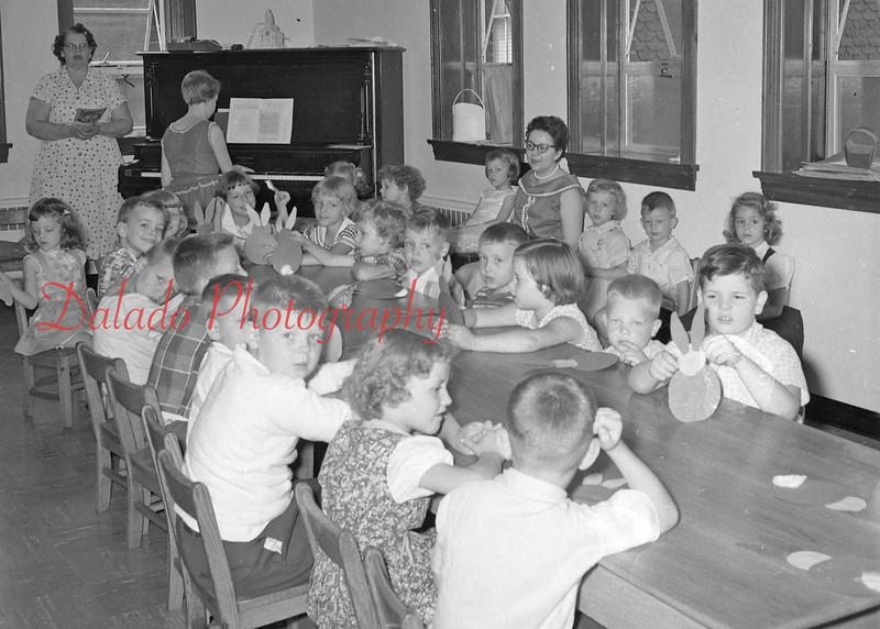 (06.13.57) Grace Lutheran Church Bible school.