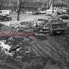 (Dec. 1955) Grace Lutheran Church construction.