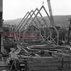 (April 1954) Construction of Grace Lutheran Church.