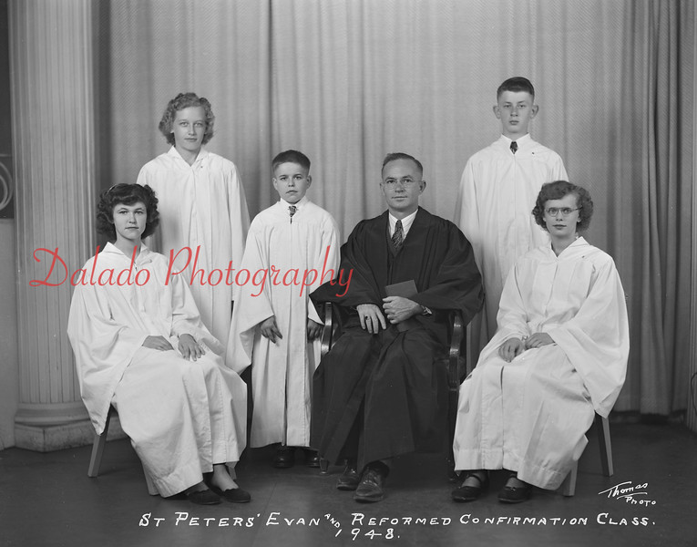 (1948) Peters Evangelical and Reformed, Red Cross.