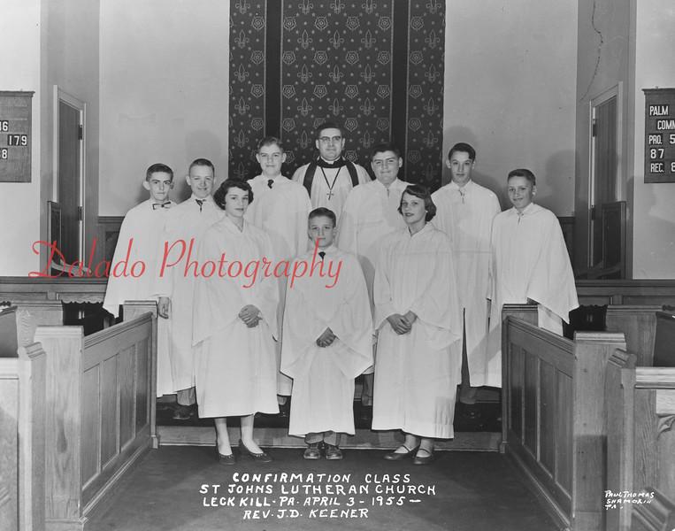 (1955) Johns Lutheran, Leck Kill.