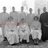 (1953) Evangelical Reformed Church, Herndon, confirmation class.