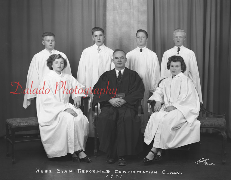 (1951) Evangelical and Reformed, Hebe.