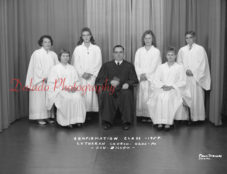 (1958) Lutheran Church, Hebe.